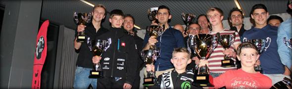 Alle Gewinner der Rotax Max Challenge Schweiz